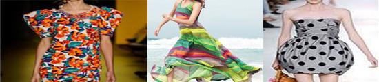 tendencia estampa floral listras poa verao 2011 Estampa floral, listras e poá: a moda do verão 2011