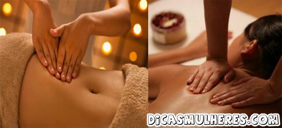 aprenda fazer drenagem linfatica em casa Drenagem linfática: Faça as massagens em casa!