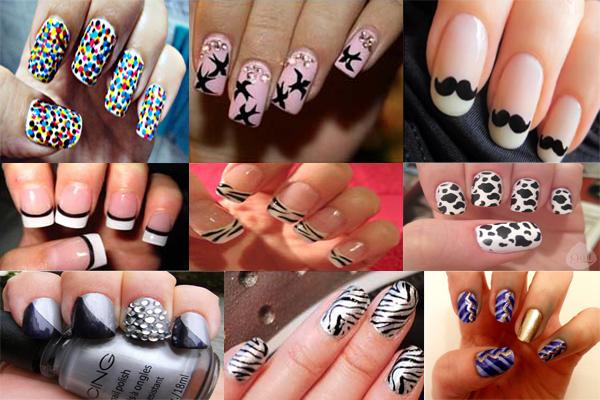 unhas decoradas 7 Aprenda a decorar suas unhas!