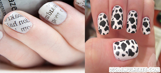 unhas decoradas Aprenda a decorar suas unhas!
