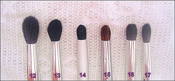 pinceis para esfumar Funções dos pincéis de maquiagem para os olhos