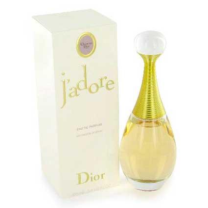 Perfume J'adore, de Dior