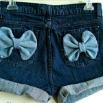 SHORT CUSTOMIZADO COM ADERESSO 150x150 SHORTS JEANS CUSTOMIZADOS