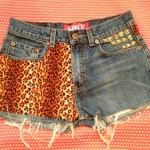SHORTS JEANS CUSTOMIZADO